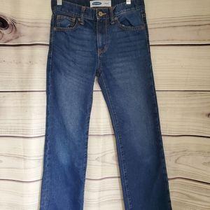 Boys Old Navy Straight Leg Size 10 Jeans/6…